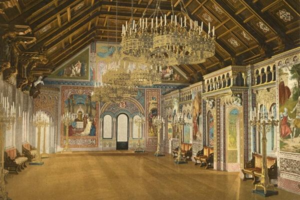 Bayerische Königsschlösser in Farbe - Photochromdrucke 1890–1905
