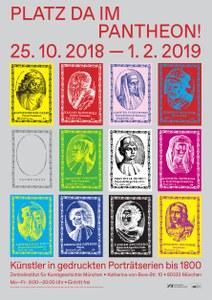 "Ausstellung am ZI: ""Platz da im Pantheon! Künstler in gedruckten Porträtserien bis 1800"""