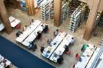 Bibliothek: Verlegung des Bibliothekseingangs am 15. und 16. Oktober  wegen Umbauarbeiten