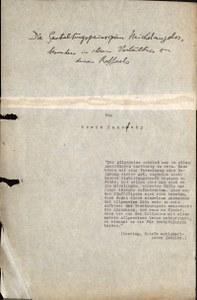 Erwin Panofskys verschollene Habilitation im Zentralinstitut für Kunstgeschichte entdeckt