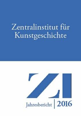 ZI-Jahresbericht 2016 - Cover