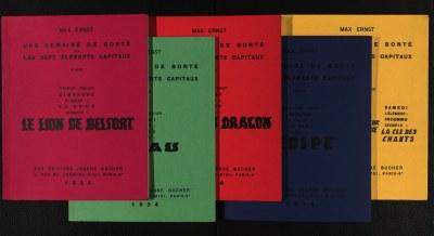 Max Ernst: Künstlerbücher aus dem Nachlass Günter und Sigrid Metken