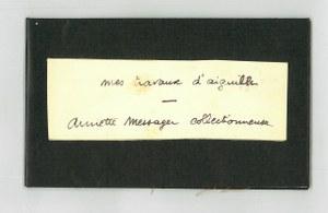 Spurensicherung: Künstlerpublikationen und Objekte aus dem Nachlass Günter und Sigrid Metken