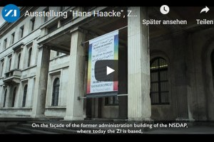 Neuer ZI-Film online: Hans Haacke