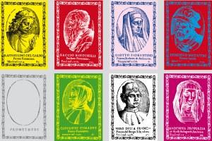 Ausstellung // Platz da im Pantheon! Künstler in gedruckten Porträtserien