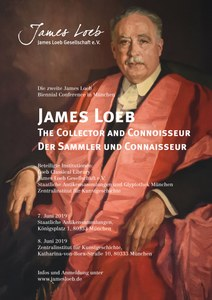 Plakat_James Loeb. The Collector and Connaisseur