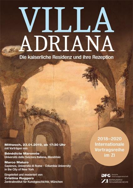 Vortragsreihe/Teil 4: Villa Adriana: Die kaiserliche Residenz und ihre Rezeption