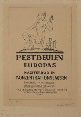 Abbildungsnachweis: Harald Pickert, Pestbeulen Europas. Naziterror in Konzentrationslagern, 1939-45, Courtesy Elke Pickert