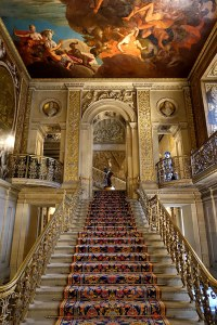 Strunck: Entrance Hall, Chatsworth House - Derbyshire, England