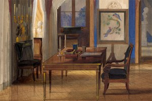 Online-Festvortrag Forschungspreis Angewandte Kunst 2020 // Achim Stiegel: David Roentgens Möbelkunst in der herzoglichen Residenz Coburg