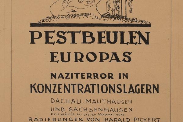 Online-Vortrag // Jörn Wendland: Kunstwerke von einer eigenen verstörenden Schönheit. Harald Pickerts Zyklus Pestbeulen Europas im Kontext seiner Entstehung in der Nachkriegszeit