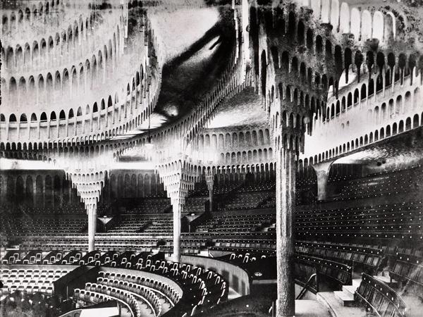 Berlin, Großes Schauspielhaus, 1919, Kuppelsaal (Hans Poelzig) (Foto: Architekturmuseum TU Berlin, © CC0)