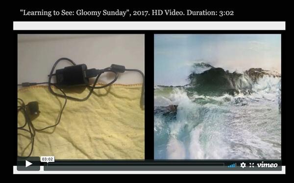Screenshot 9.9.2020: Memo Akten, Learning to See: Gloomy Sunday, 2017 [...] (Detail)