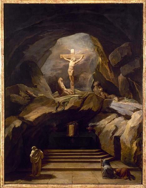 Vortrag Windorf_Nicolas-Bernard Lépicié, La Chapelle du Calvaire, 1765, Paris, Saint-Roch, Paris, Musée Car-navalet