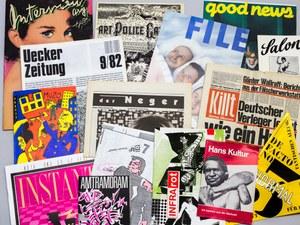Archive Artist Publications. Auswahl einiger Künstlerpublikationen. Foto Hubert Kretschmer