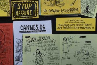 Ausstellung Graphzines und Comix