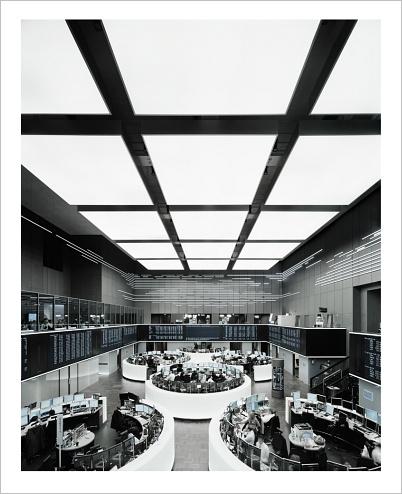 Ralf Kaspers: Frankfurter Börse, 2008, 246 x 200 cm