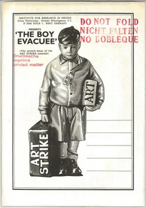 The boy evacuee