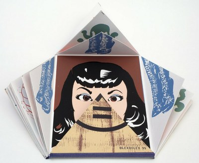 Blexbolex: 0 X 0 – 1995 (24 x 18 cm, Siebdruck, Auflage 100 Exemplare)