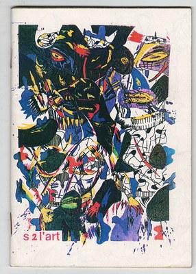 Bruno Richard: S 2l'art. – 1991 (15 x 10 cm, photokopiert, Auflage 100 Ex.), vordere Umschlagseite