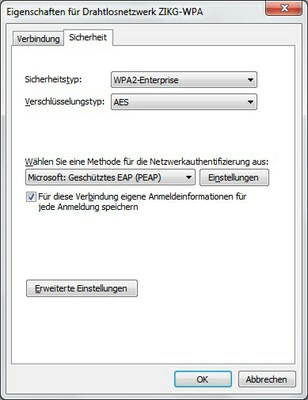 WLAN Windows 7 Abb. 2