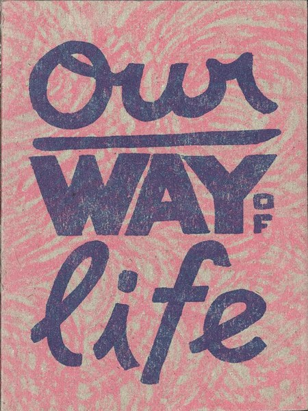 Helge Reumann, Our Way of Life, 2015