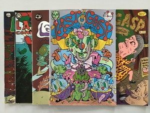 Last Gasp Comix & Stories 1-5 (1994-1997)