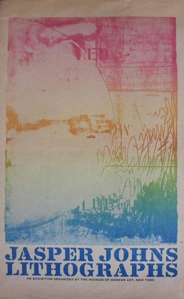 Jasper Johns : Lithographs. 4° D2-Joh 239/44 R