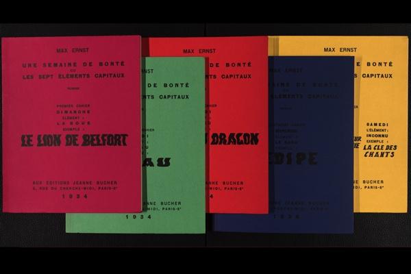Max Ernst // Künstlerbücher aus dem Nachlass Günter und Sigrid Metken