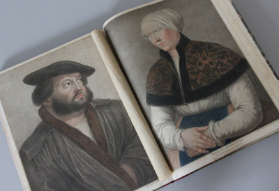 Imitations of original drawings by Hans Holbein in the collection of His Majesty, for the portraits of illustrious persons of the court of Henry VIII : with bibliographical tracts / publ. by John Chamberlaine (London: Bulmer, 1792. - [67] Bl., [83] Portrait-Tafeln (Kupferstiche) + List of portraits)Foto: Zentralinstitut für Kunstgeschichte