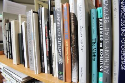 Konvolut von Publikationen aus der Privatbibliothek von Ulrich TreutleinFoto: Zentralinstitut für Kunstgeschichte