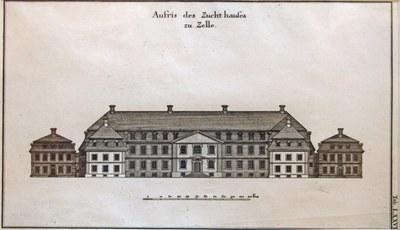 Jaspert_Johann Friedrich Penther_Celle, Zucht- Werk- und Tollhaus 1748_Bomann-Museum, Celle