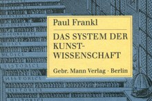 Wojciech Bałus // In Search for the Principles of Art History: The Idea of Kunstwissenschaft from August Schmarsow to Erwin Panofsky and Paul Frankl
