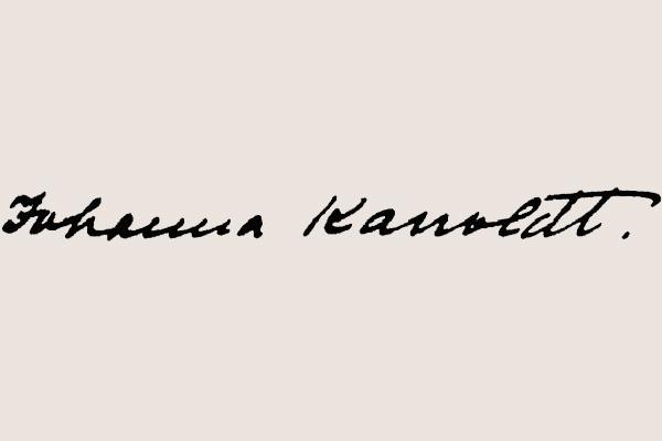 Johanna Kanoldt (1880-1940) – Malerin und Schriftstellerin in Karlsruhe und München