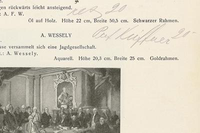 Unikales Quellenmaterial zum deutschen Kunsthandel: Digitalisierung und Erschließung der Handexemplare der Kataloge des Münchner Auktionshauses Hugo Helbing (1887 bis 1937)