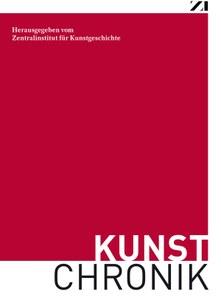 Cover Kunstchronik