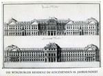 Die Würzburger Residenz im ausgehenden 18. Jahrhundert - dargestellt am Beispiel einer zeitgenössischen Planserie