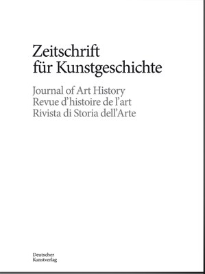 Zeitschrift für Kunstgeschichte_Cover Heft 2