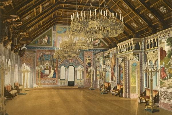 Bayerische Königsschlösser in Farbe – In Photochromen von um 1900