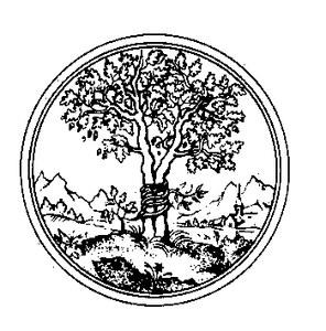 Logo des Vereins der Freunde des Zentralinstituts für Kunstgeschichte e.V. CONIVNCTA FLORESCIT