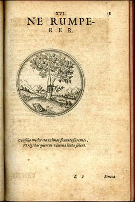 Originallogo des Vereins der Freunde des Zentralinstituts für Kunstgeschichte e.V. CONIVNCTA FLORESCIT