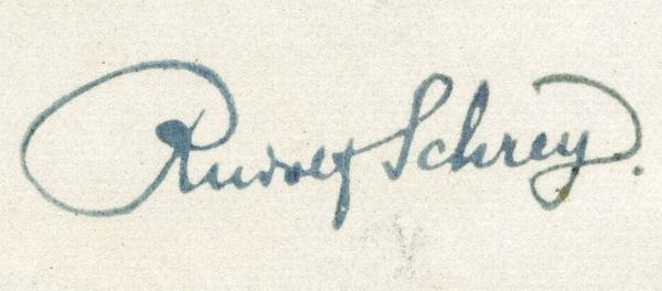 Sammlung Rudolf Schrey